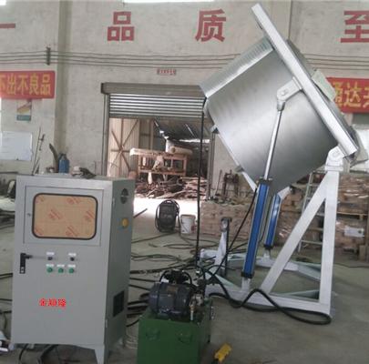 倾斜式铝合金熔化炉