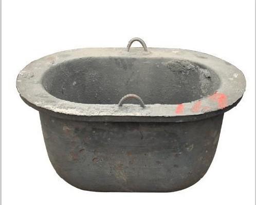 压铸工业炉配件铸铁坩锅