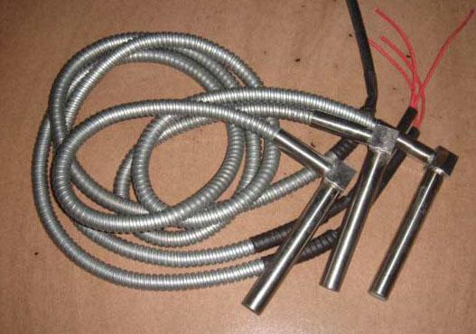 热室压铸机配件、鹅颈发热管